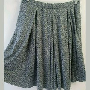 LuLaRoe Madison Pleated Skirt Size XL